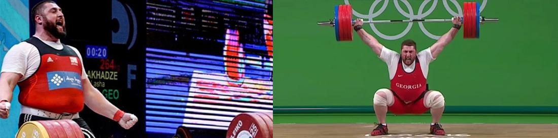 Weightlifter Lasha Talakhadze