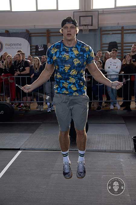 Vašek Mráz - speed rope švihadlo  CrossFit