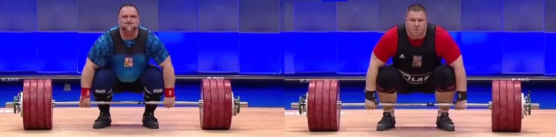 Orsag, Kučera weightlifting