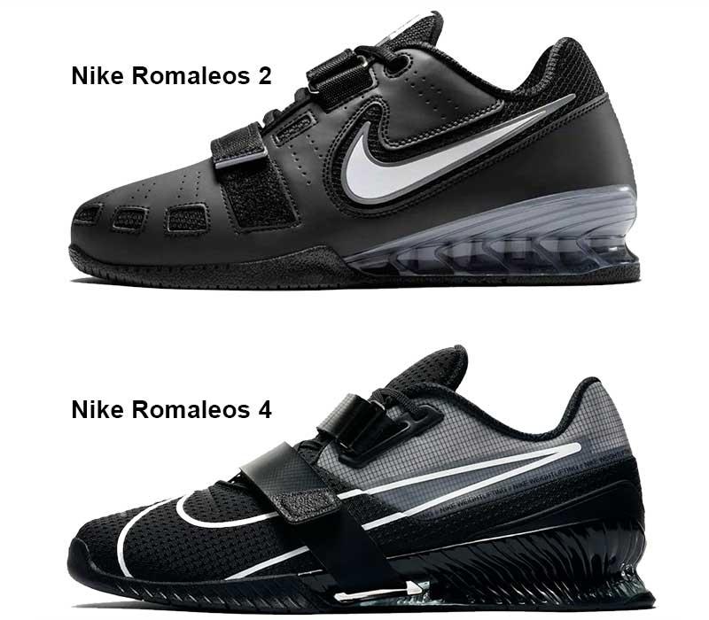 Nike Romaleos 4  a Romaleos 2