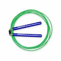 Rychlostní JerkFit Omega Speed Rope - blue green