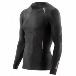 Man compression T-Shirt long sleeve Skins A400