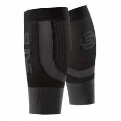 Skins Essentials Seamless Calftights Fluro Black/Pewter