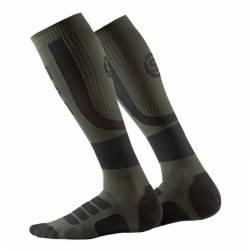 Man compression knee socks Skins Essentials Comp Socks Active Midw Black/Utility