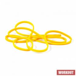 Resistant rubber WORKOUT yellow - 7 kg