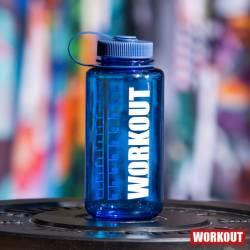 Bottle WORKOUT 1000 ml - blue Tritan