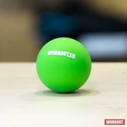 Massage Lacrosse ball WORKOUT - green