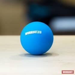 Massage Lacrosse ball WORKOUT - blue
