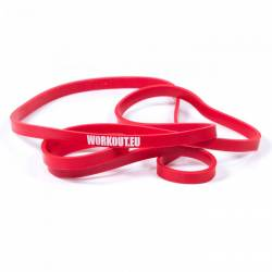 Resistant rubber WORKOUT red - 13 kg