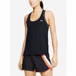 Woman top Under Armour Knockout Tank black