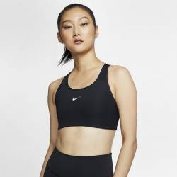 Woman Bra Nike Swoosh - black