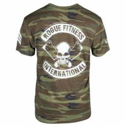 Pánské tričko Rogue International - camo