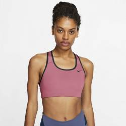 Woman Bra Nike Swoosh - medium support pink