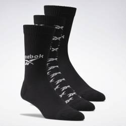 Socks CL FO Crew Sock 3P BLACK - GG6683