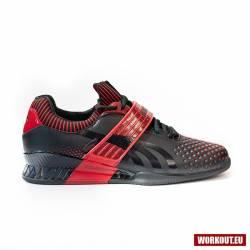Vzpěračská bota WORKOUT 2.0 black/red