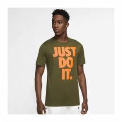 Man T-Shirt Nike Sportswear - Just do it - green