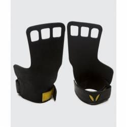 Pánské kožené mozolníky 3-prsté Victory Grips - černé