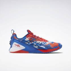 Woman Shoes Reebok Nano X1 - red/blue/white