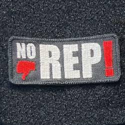 Nášivka NO REP - palec