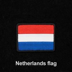 Nášivka nizozemské vlajky se suchým zipem 7 x 5 cm