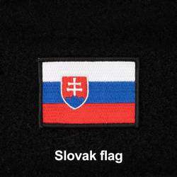 Patch with Czech flag with Velcro 7 x 5 cm