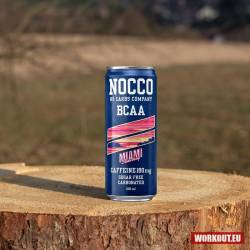 Nocco BCAA+ Miami strawberry 330 ml