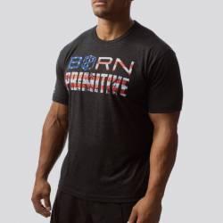 Man T-Shirt The Patriot Brand Tee (Black)