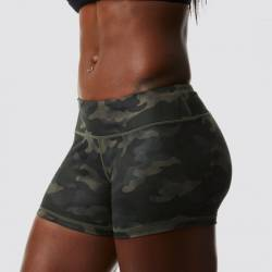 Woman Shorts Double Take Booty Shorts (Earth)