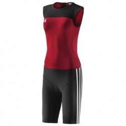 Woman Weightlifting T-Shirtt university red/black Z11186