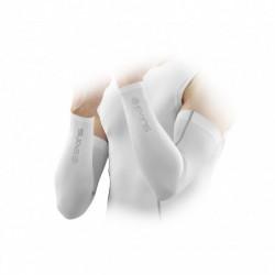 Skins Mens Essentials Compression Sleeves white